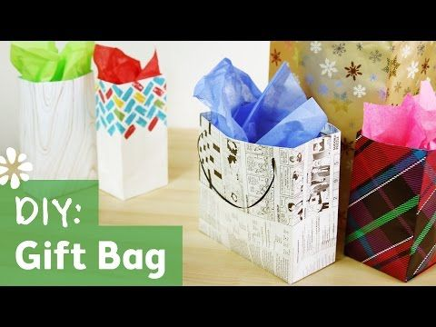 """A simple gift bag video using Designer Series Paper. Make 2 adorable bags from a 12"""" x 12"""" sheet of paper."""