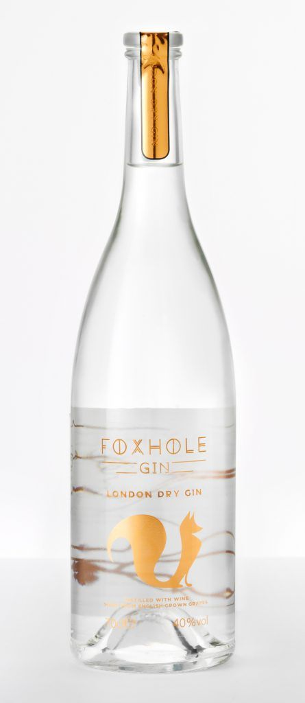 Foxhole Spirits launches gin distilled with English wine grapes www.foodbev.com/news/foxhole-spirits-launches-gin-distilled-with-english-wine-grapes/