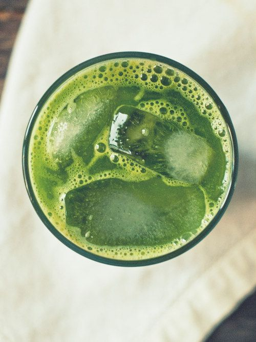 Spicy Kale Ginger Lemonade
