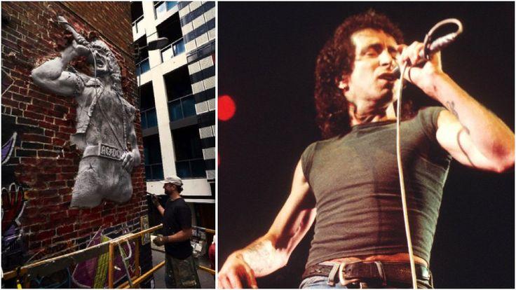 Melbourne Is Getting A Giant Sculpture Honouring AC/DC Legend Bon Scott  ||  To watch over AC/DC Lane. http://musicfeeds.com.au/news/melbourne-getting-giant-sculpture-honouring-acdc-legend-bon-scott/?utm_campaign=crowdfire&utm_content=crowdfire&utm_medium=social&utm_source=pinterest