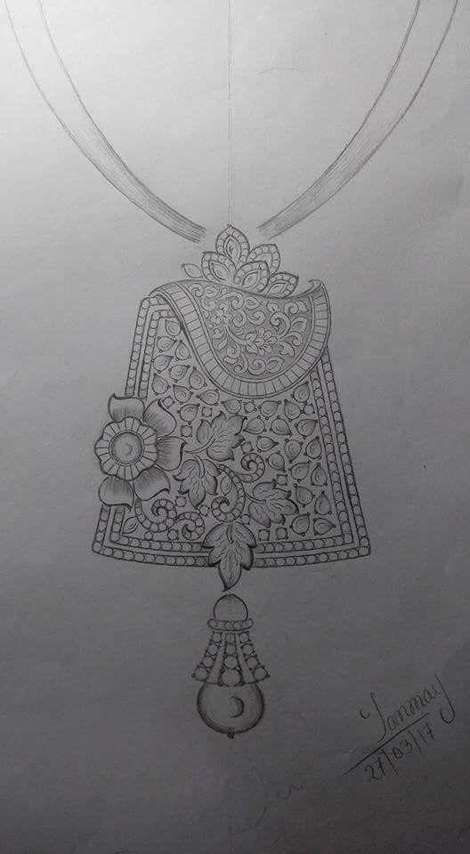 Sketch of pandal