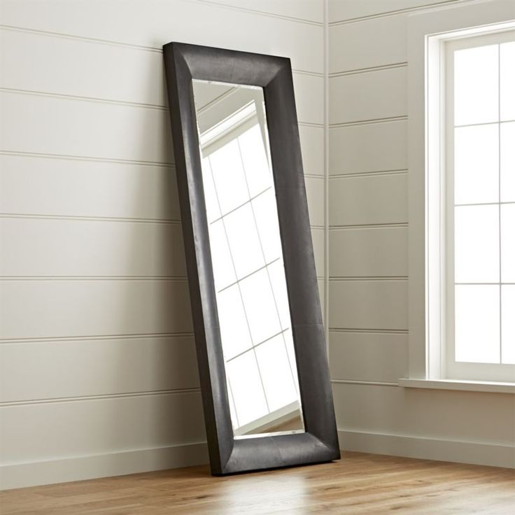 Shop Maxx Black Floor Mirror.  This boldly styled floor mirror will create a series of double takes.