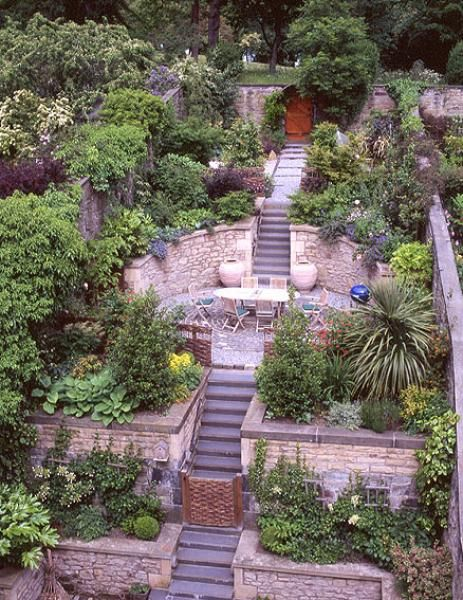 The 25+ best Tiered garden ideas on Pinterest | Terraced ... on Tiered Yard Ideas id=52044