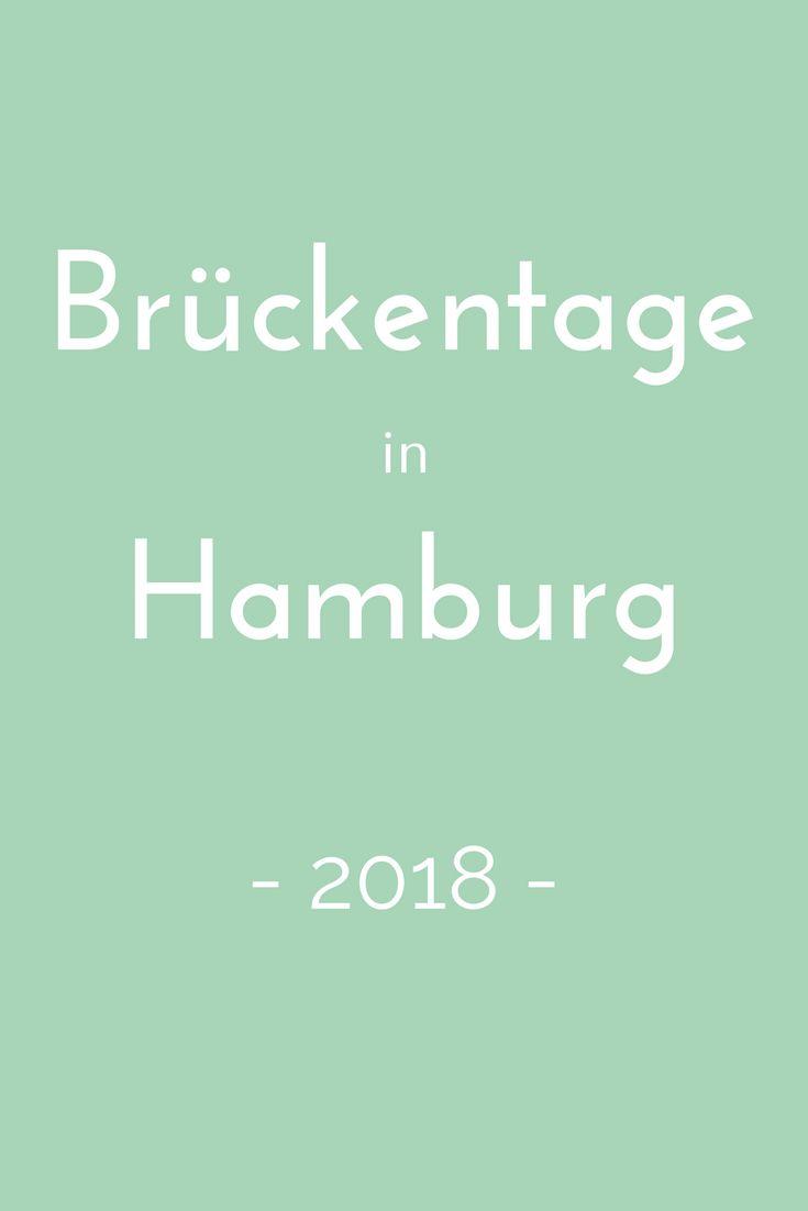 Brückentage nutzen, um ein paar Tage länger frei zu haben? Wie das geht, verrät der Brückentagekalender 2018 für Hamburg