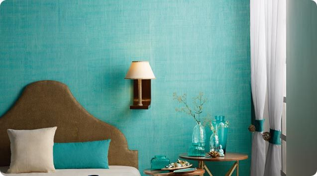 Textured Wall Paint Inspired from Fabric Effect - Royale Play Textile