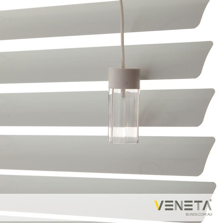 Veneta Blinds : Aluminium Blinds Colour : PURE WHITE