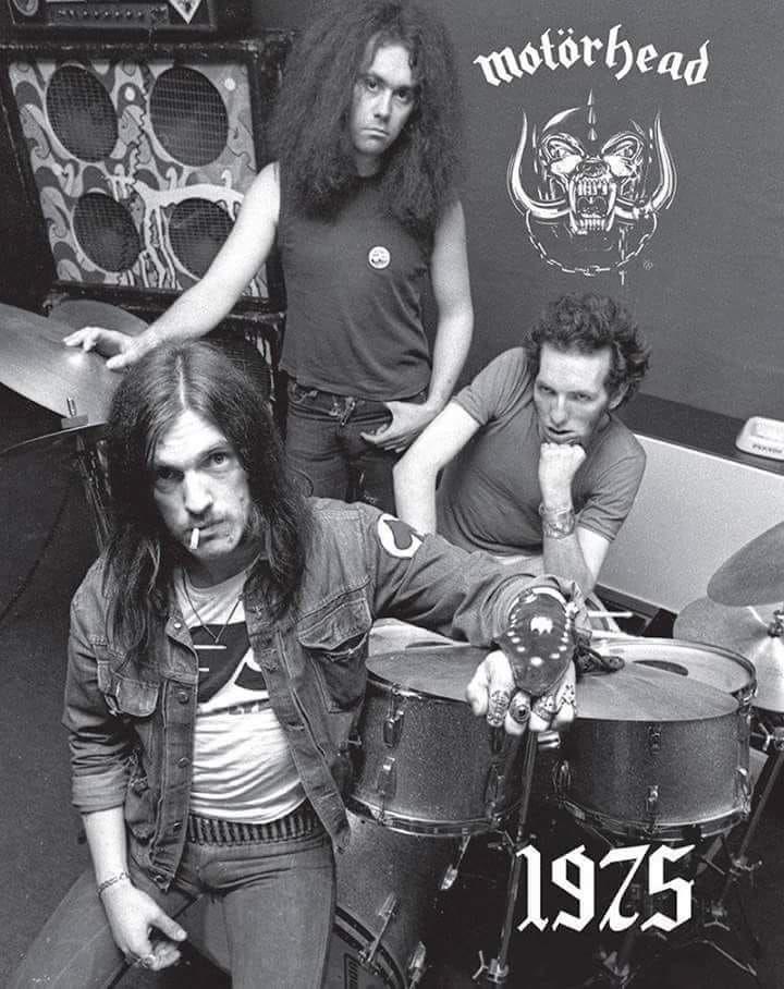 Lemmy with Lucas Fox and Larry Wallis | Motörhead | Lemmy