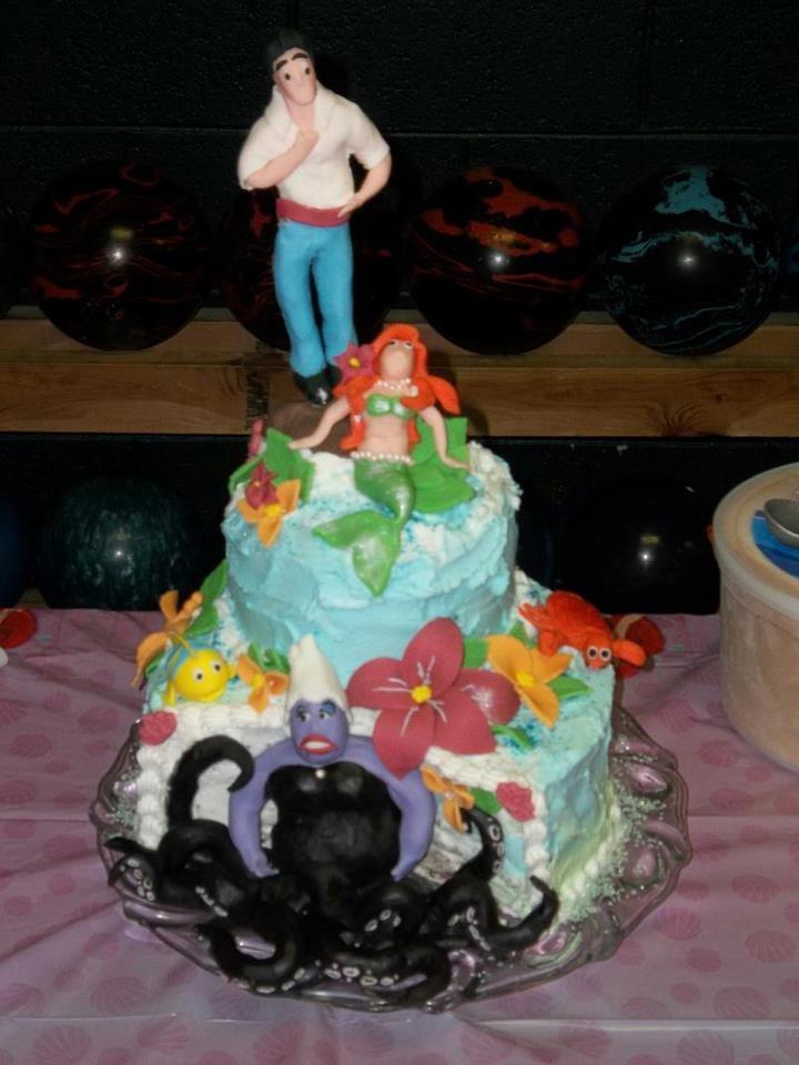 Ariel Birthday Cake Ideas
