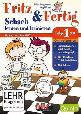 Fritz & #fertig #follow 1 - chess learn und #training 3.0 pc new + ovp,  View more on the LINK: 	http://www.zeppy.io/product/gb/2/311668172744/
