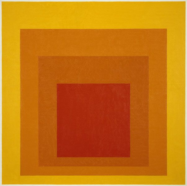 Albers was a student of the Bauhaus in Dessau, Germany and was a practicing…