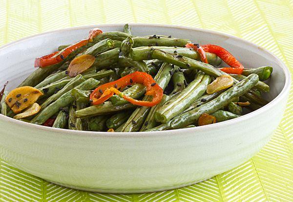 Garlic Soy Green Beans by ohmyveggies #Green_Beans #Garlic #Soy # ...