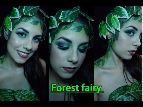 Forest Fairy or Mother Nature makeup tutorial | Maquillaje de Hada del Bosque ó Madre Naturaleza