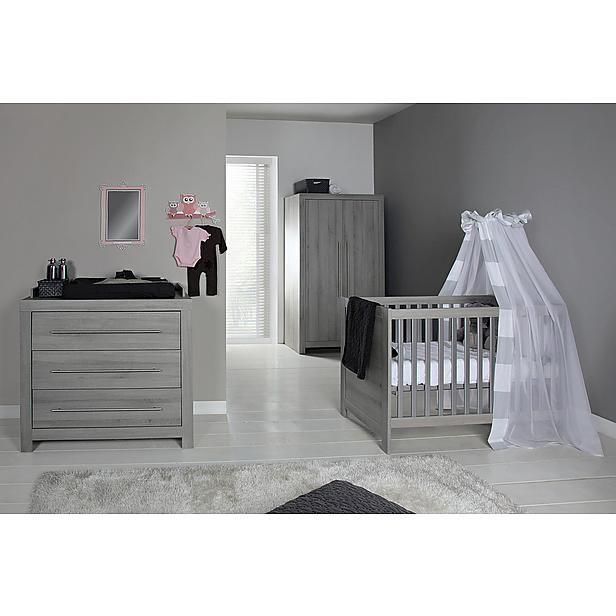 Europe Baby Vittoria ledikant + commode + linnenkast grijs? Bestel nu bij wehkamp.nl