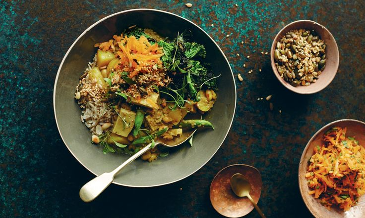Buddha bowls curry: delicious new vegetarian recipes from Anna Jones