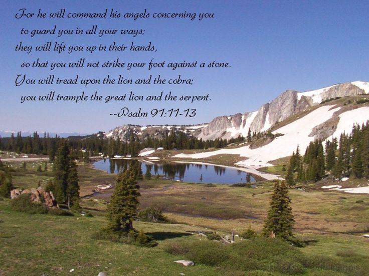 psalms 91 | Psalm 91:11-13 thumbnail