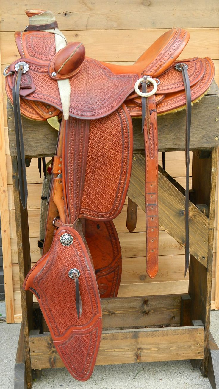 58 Wade, Used - Sold. For more information on our custom saddles see our website at 33ranchandsaddlery.com
