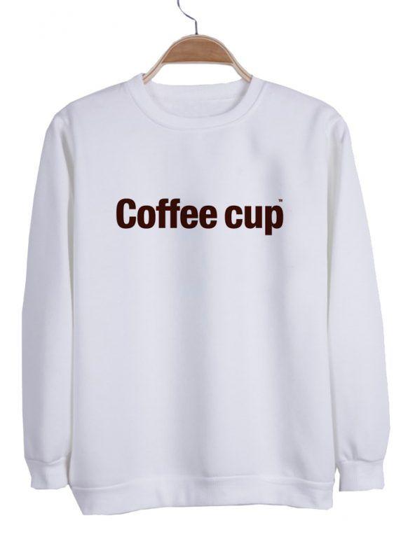coffee cup sweatshirt