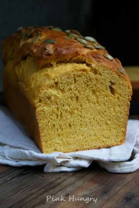 Pumpkin Brioche  recipe on pinkhungry.com