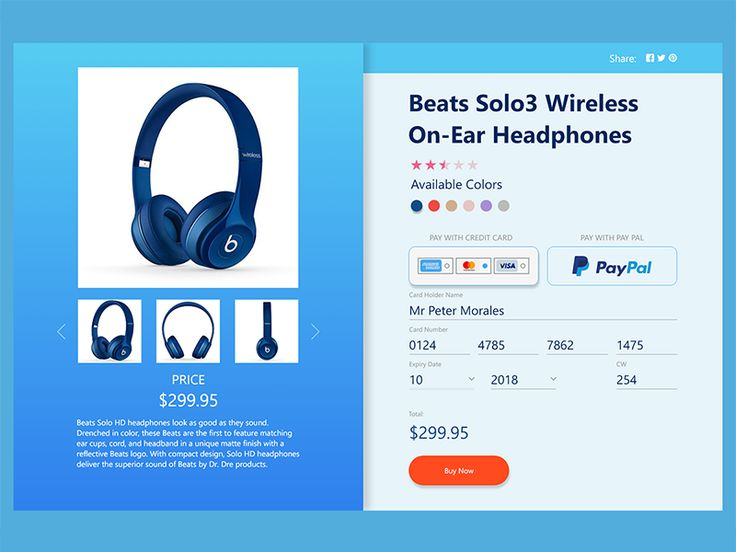 Daily UI Checkout 002