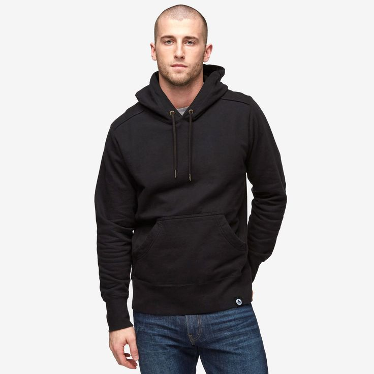 <> American Giant Classic Pullover. Known as the best hoodie ever.