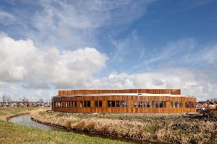 Schoolbuilding in our neighbourhood  in Groningen by Dok architecten
