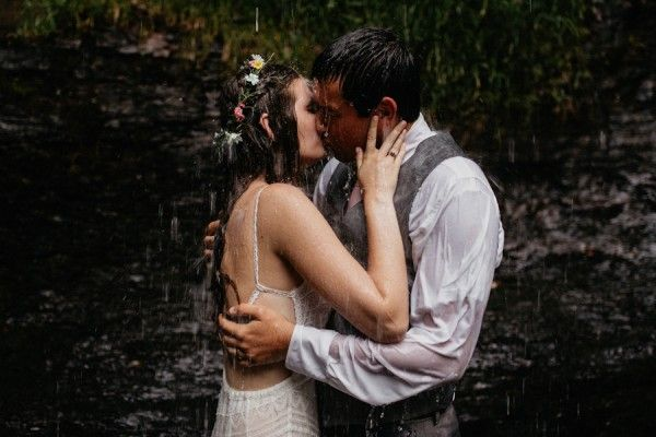 Waterfall kisses | Image by Cloudland Canyon State Park