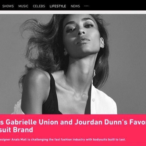 Check out article on  @realanaismali and @anais.bodysuits featured on @bet ✨