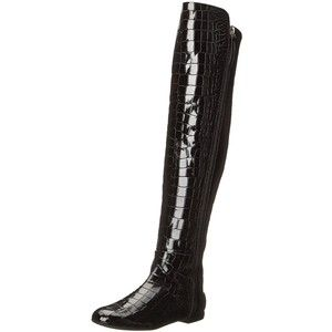 GIUSEPPE ZANOTTI WOMEN'S OVER THE KNEE EMBOSSED BOOT