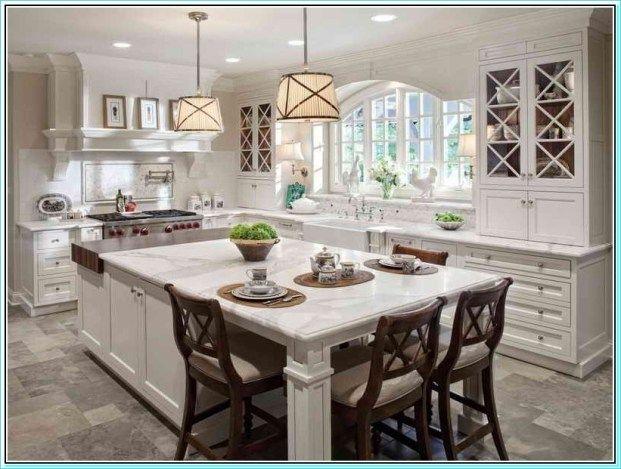 38 Amazing Narrow Kitchen Island with Seating Ideas ...