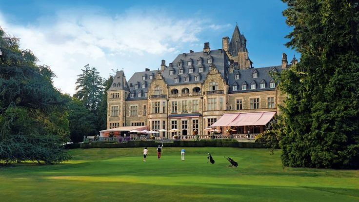Schlosshotel Kronberg hotel, Frankfurt, Germany. Empress Victoria built this castle after the death of her husband Friedrich III.