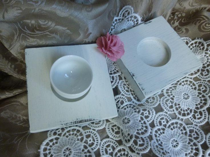 Vintage-Teelichernset von Mosaikhandwerk auf DaWanda.com