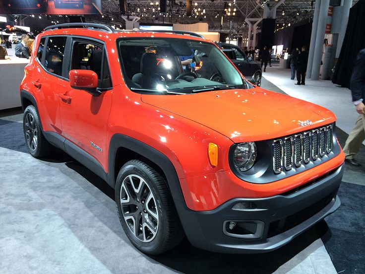 new york auto show 2015 jeep renegade best ride. Black Bedroom Furniture Sets. Home Design Ideas