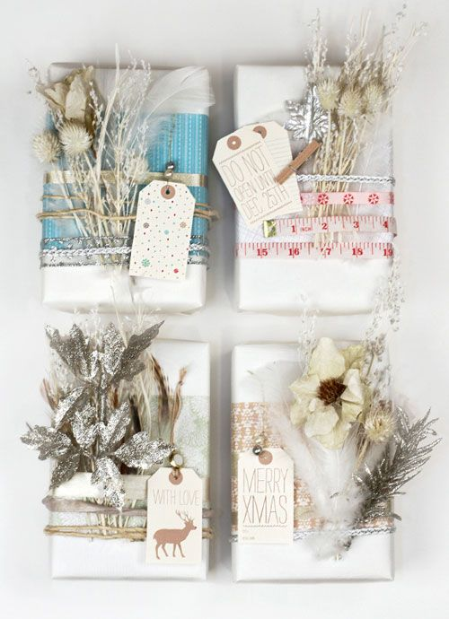 holiday gifts: Gift Wrapping, Giftwrap, Diy Gifts, Holidays Gifts, Gifts Wraps, Gifts Tags, Christmas Wraps, Wraps Gifts, Wraps Ideas