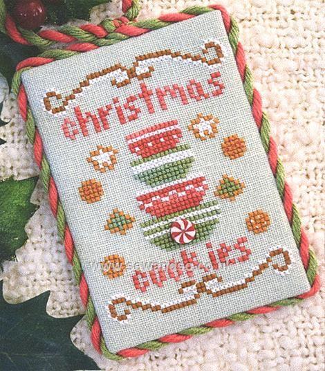 Buy Christmas Cookies Chart Online at www.sewandso.co.uk