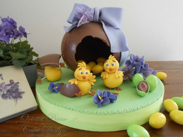Egg whit surprise cake