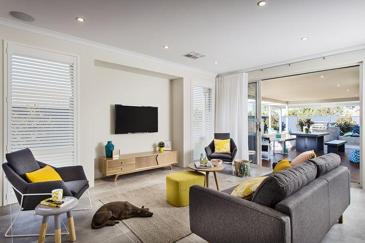 Living - Monroe Display Home - Homebuyers Centre - Baldivis, WA Australia