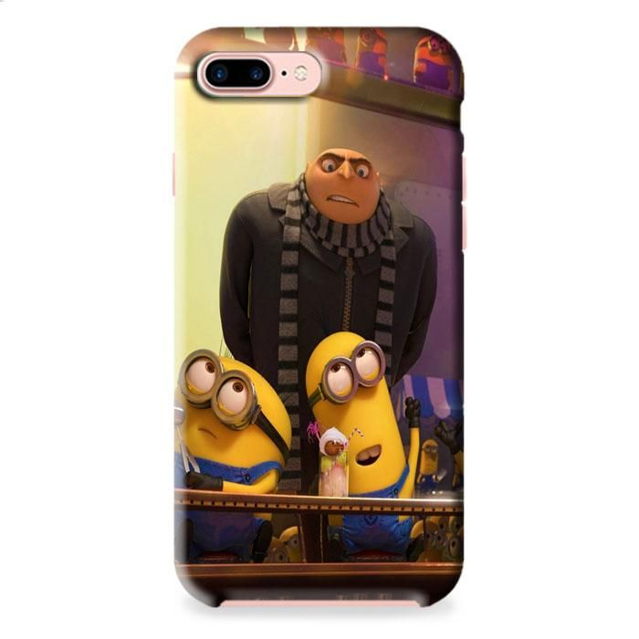 Despicable Me Gru And Minions iPhone 7 Plus 3D Case Dewantary