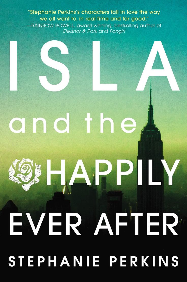 """Stephanie Perkins's YA romance Isla and the Happily Ever After is the third and final book in her Anna and the French Kiss series and follows a creative couple during their senior year in France. Author Rainbow Rowell writes, """"Stephanie Perkins's characters fall in love the way we all want to, in real time and for good."""""""
