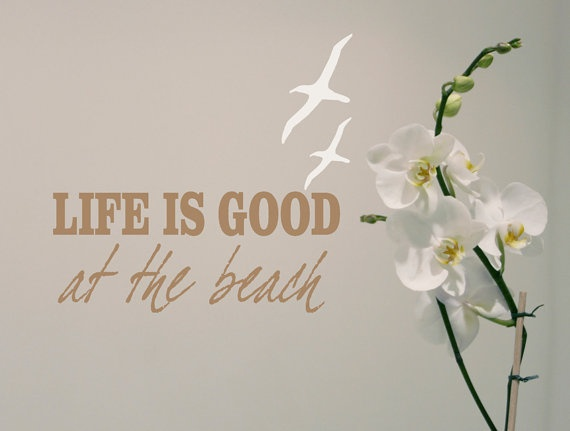 Life Is Good at the beach...