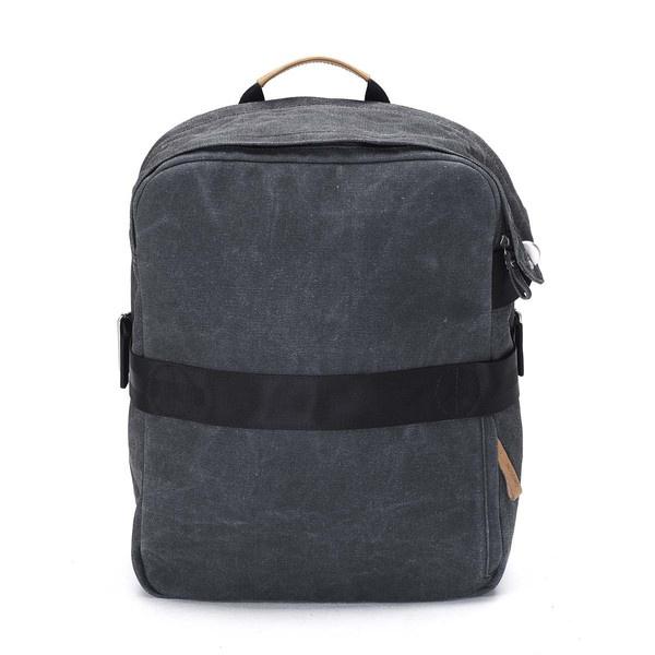 QWSTION Media Bag Washed Black - www.belance.com.au