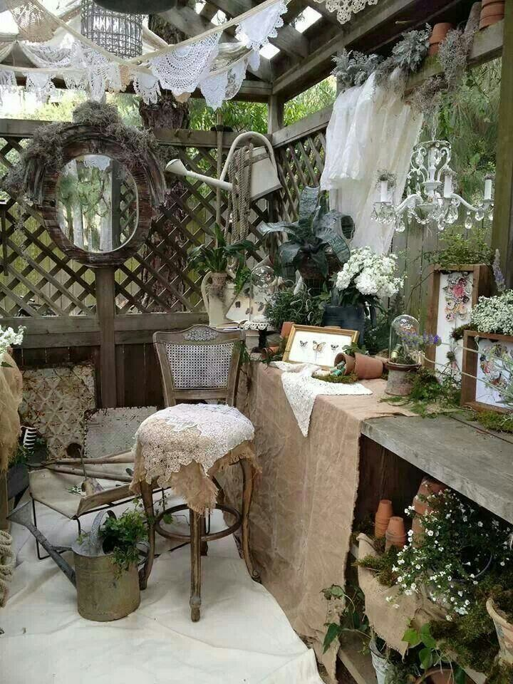 shabby chic garden gardening pinterest g rten. Black Bedroom Furniture Sets. Home Design Ideas