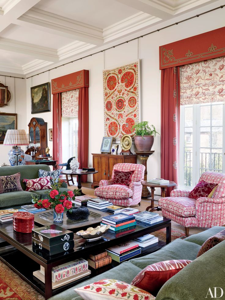 12 Stylish Window Treatment Ideas Colorful Interiorsdrawing Roomsdrawingsthe