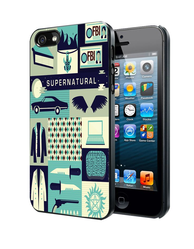 galaxy iphone 5s case supernatural collage samsung galaxy s3 s4 4785