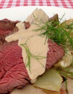 Ossenhaas met Gorgonzola saus   Het lekkerste recept vind je op AllesOverItaliaansEten
