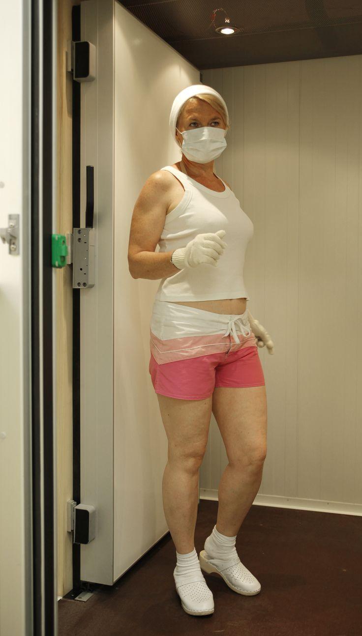 Krioterapia wkabinie kriogenicznej. #krioterapia, #cold, #health #cryotherapy
