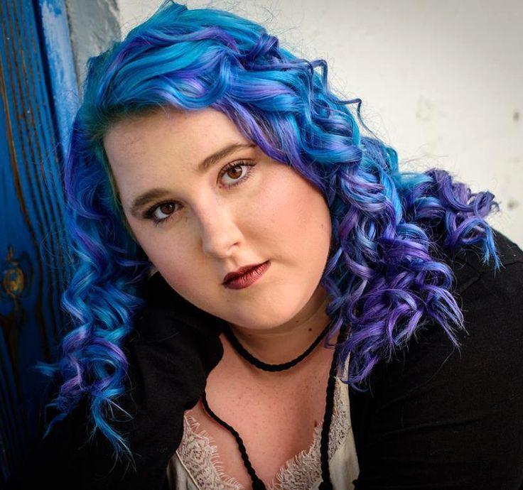 67 best Blue Hair Ideas images on Pinterest | Blue hair, Dip dye ...