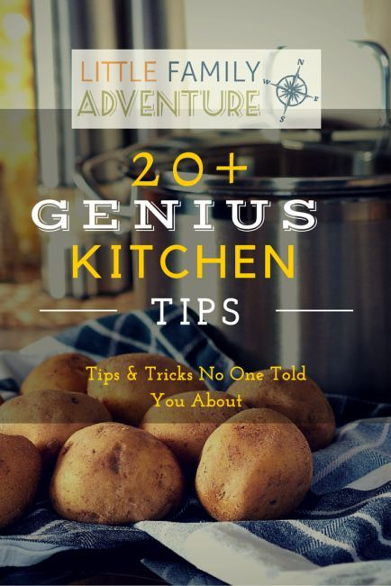 20+ Genius Kitchen Tips and Tricks You Need To Know; Cooking tips and tricks to make your cooking time in the kitchen faster, easier, with more delicious results. You won't want to miss these secrets to a better cooking experience