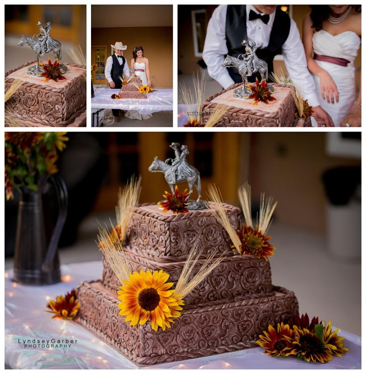 Western Wedding cake, Wedding, cake, cake decorating, cowboy