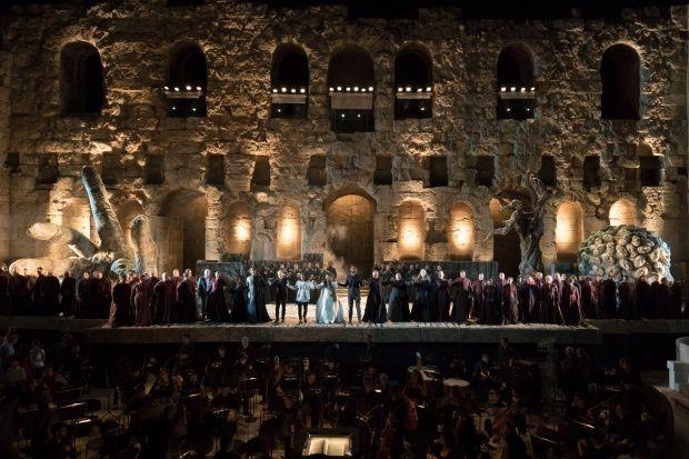Είδαμε την όπερα του Βέρντι από την ΕΛΣ στο Ηρώδειο