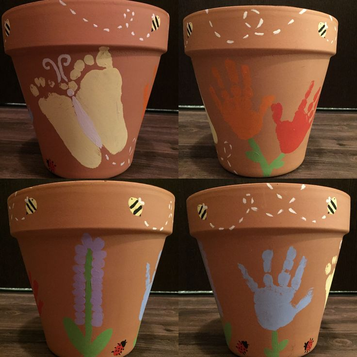 Just found this on Pinterest, so I don't know if anyone will even see this comment, lol. What a fantastic idea! I have a shed full of clay pots that could be beautiful painted like this.